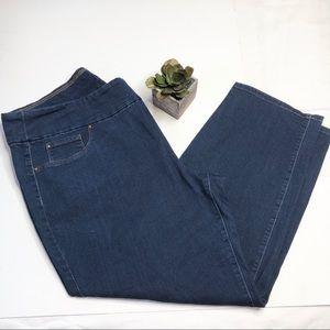 Charter Club pull on jeans, Cambridge slim